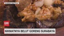 VIDEO: Nikmatnya Belut Goreng Surabaya