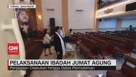 VIDEO: Pelaksanaan Ibadah Jumat Agung