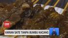 VIDEO: Varian Sate Tanpa Bumbu Kacang