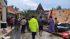 Puting Beliung Melanda Sumenep, 18 Rumah Rusak