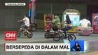 VIDEO: Beresepeda di Dalam Mal
