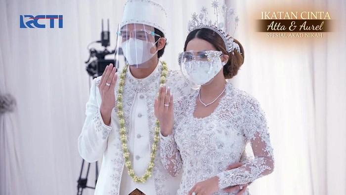 Intip Momen Pernikahan Atta dan Aurel yang Bikin Baper!