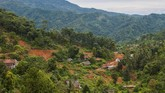 Kampung Cigobang, Kabupaten Lebak, Banten kini tak berpenghuni setelah dilanda bencana banjir bandang dan longsor pada Januari 2020 lalu.