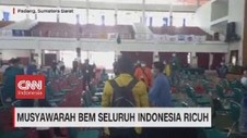 VIDEO: Musyawarah BEM Seluruh Indonesia Ricuh