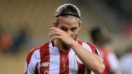 Wajah Memelas Kapten Bilbao Saat Sociedad Juara Copa del Rey