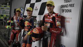 John McPhee, Penendang Pembalap Indonesia Gresini di Moto3