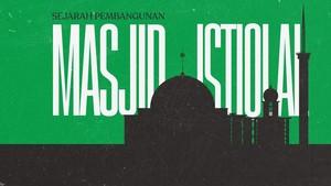 INFOGRAFIS: Sejarah Pembangunan Masjid Istiqlal