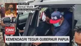 VIDEO: Kemendagri Tegur Gubernur Papua Lukas Enembe