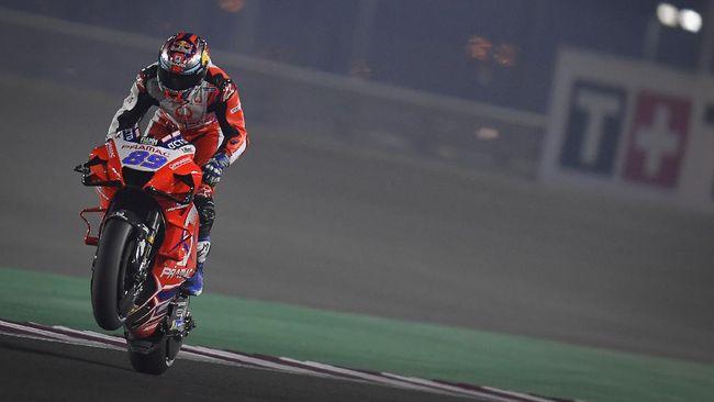 Pembalap Pramac Racing, Jorge Martin mengalami kecelakaan di sesi latihan bebas ketiga(FP3) MotoGP Portugal.
