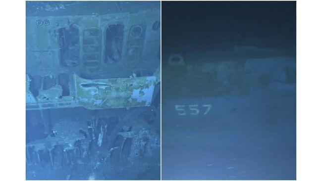 Pencarian bangkai kapal itu telah dilakukan sejak lama, karena karam di laut dengan kedalaman hampir 6.500 meter.