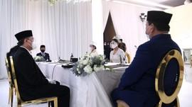 Reaksi Kocak Netizen Pernikahan Atta-Aurel Dihadiri Jokowi