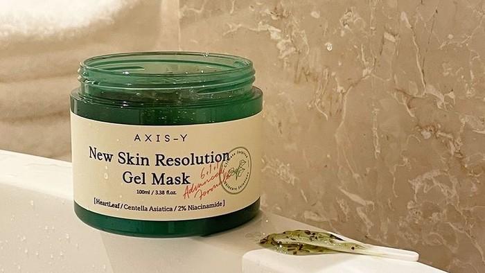 AXIS-Y Rilis Gel Mask, Atasi Kulit Kusam dan Melindungi Skin Barrier