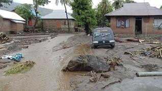 Update Banjir NTT: 128 Meninggal, 71 Hilang, 8.424 Mengungsi