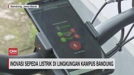 VIDEO: Inovasi Sepeda Listrik di Lingkungan Kampus Bandung