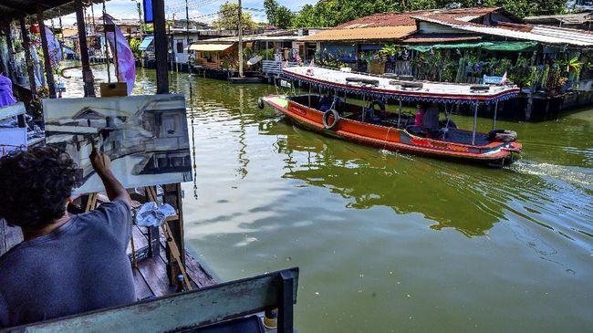 Kanal Klong Ong Ang mendapat penghargaan Tata Kota dari PBB setelah proyek renovasi berhasil mengembalikan keasriannya.