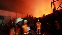 Pasar Leles Garut Kebakaran, Ratusan Kios Hangus
