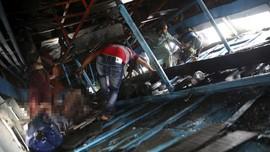 FOTO: Tabrakan Maut Kapal Feri di Bangladesh, 26 tewas