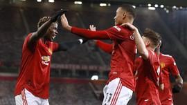 Hasil Liga Inggris: Man Utd Kalahkan Burnley 3-1