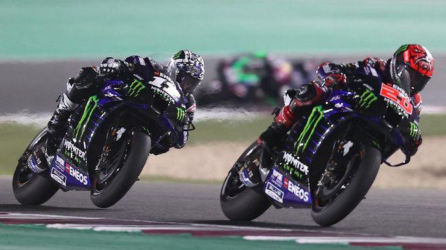Maverick Vinales mengeluarkan komentar yang secara tidak langsung menyindir Fabio Quartararo pada MotoGP Spanyol 2021.