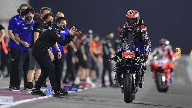 Pembalap Yamaha, Fabio Quartararo jadi yang tercepat di FP3 MotoGP Portugal sedangkan Marc Marquez harus ikut sesi kualifikasi pertama.
