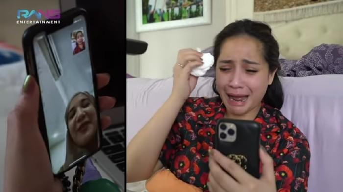 Nagita Slavina Gak Berhenti Nangis Lihat Video Lahiran Zaskia Sungkar, Kenapa?
