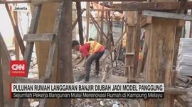 VIDEO: Rumah Langganan Banjir Diubah jadi Model Panggung