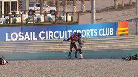 VIDEO: Detik-detik Pembalap Indonesia Gresini Ribut di Moto3