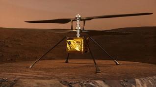 Helikopter Ingenuity NASA Siap Terbang Perdana di Mars