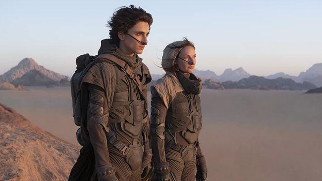 Dune merupakan film adaptasi dari novel berjudul sama yang terbit pada tahun 1965.