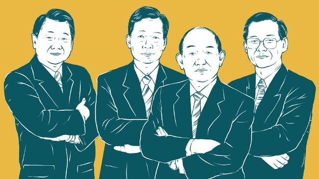 Chearavanont bersaudara menduduki peringkat pertama orang terkaya di Thailand dengan harta ratusan miliar dolar AS.