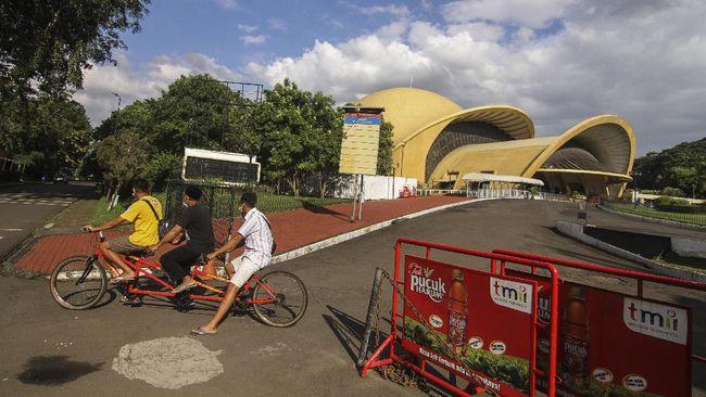 Taman Mini Indonesia Indah (TMII) tutup sementara hingga batas waktu yang belum ditentukan.