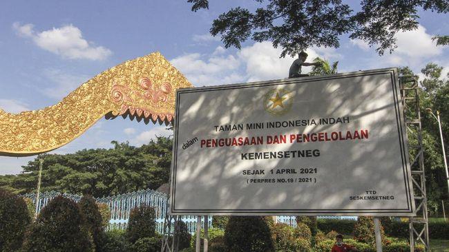 DJKN mengungkap pengelola TMII tak pernah menyetor PNBP ke kas negara sebelum diambilalih melalui Kementerian Sekretariat Negara.