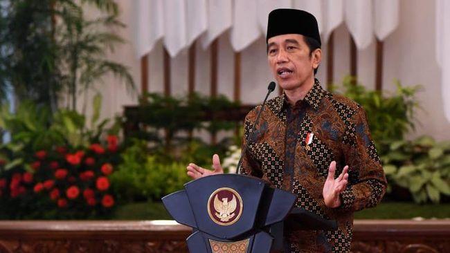 Presiden Jokowi meluncurkan Kharisma Event Nusantara yang merupakan kalender event pariwisata nasional 2021 hari ini, Sabtu (10/4).