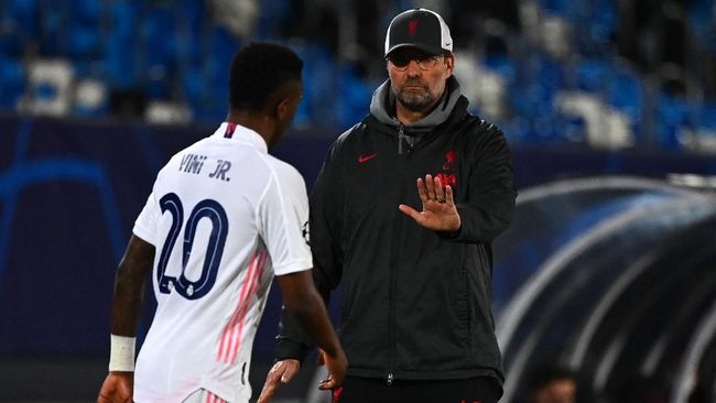Jurgen Klopp mengatakan Liverpool telah membuat rencana khusus untuk menghentikan Vinicius Jr. dalam pertandingan leg kedua perempat final Liga Champions.