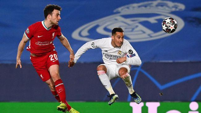Liverpool tertinggal 1-3 dari Real Madrid di Liga Champions. Berikut syarat The Reds lolos ke semifinal Liga Champions.