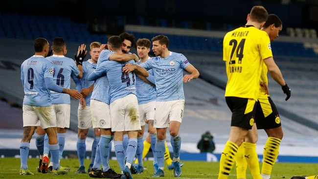 Dortmund vs Man City: The Citizens Diganggu Trauma 8 Besar