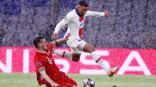 PSG akan melawan Bayern Munchen di leg kedua babak perempat final Liga Champions, Rabu (14/4) dini hari WIB.