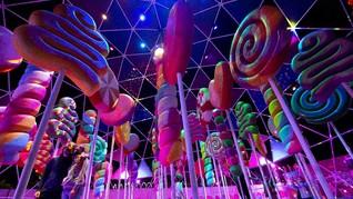 FOTO: Masuk Imajinasi Willy Wonka di Taman 'Sugar Rush'