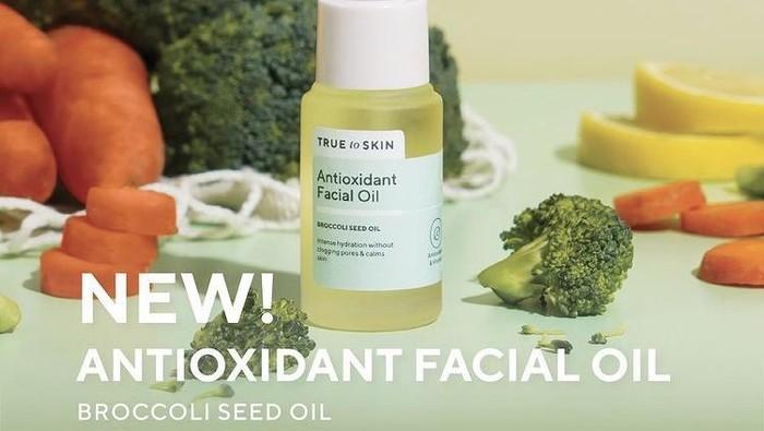 Intip Facial Oil Antioksidan Terbaru True to Skin, Terbuat dari Brokoli Lho!