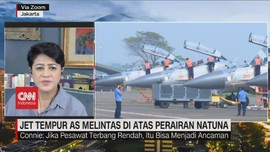 VIDEO: Jet Tempur AS Melintas di Atas Perairan Natuna