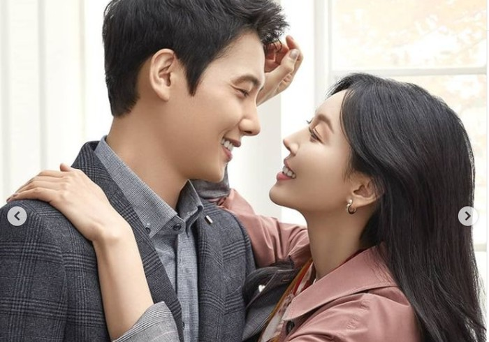 Kim Seo Yeon menikah dengan aktor bernama Lee Sang Woo pada tahun 2017 lalu / foto: instagram.com/sysysy1102