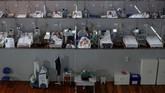Jumlah kematian akibat infeksi corona dalam 24 jam di Brasil untuk pertama kali tembus hingga 4.000 orang.