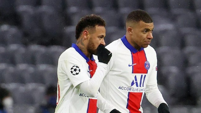 Pochettino Sebut Neymar dan Mbappe Bertahan di PSG