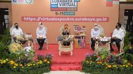 Dorong Kebangkitan UMKM, Pemkot Surabaya Gelar Expo Virtual