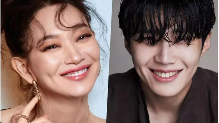 Dimple Couple! Kim Seon Ho dan Shin Min Ah Resmi Jadi Bintang Utama Drama Mr. Hong