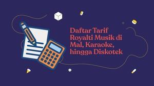 INFOGRAFIS: Daftar Tarif Royalti Musik di Mal hingga Hotel