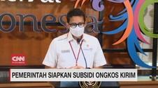 VIDEO: Pemerintah Siapakan Subsidi Ongkos Kirim