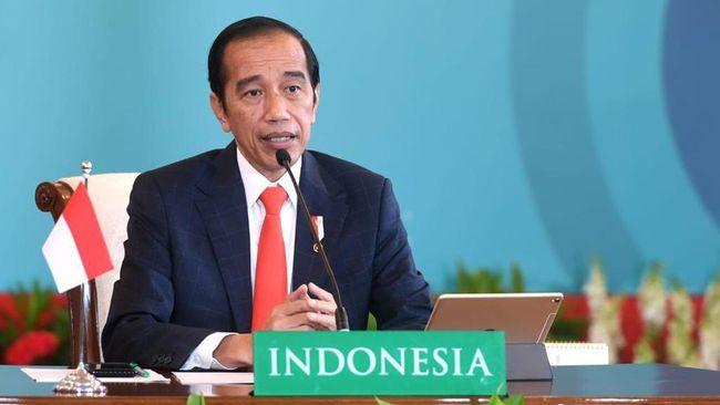 Presiden Joko Widodo menerangkan konsep smart city lebih dari sekadar kota yang terintegrasi secara digital.