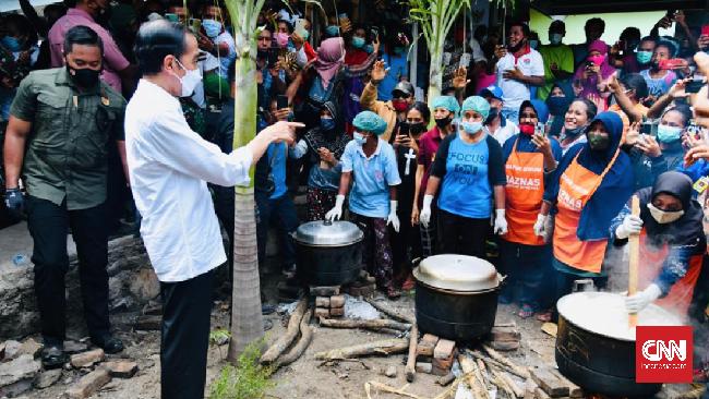 Presiden Joko Widodo meminta masyarakat waspada dan tidak menyepelekan penularan Covid-19.
