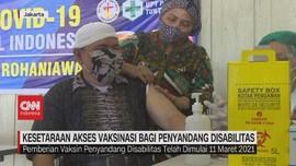 VIDEO: Kesetaraan Akses Vaksinasi Bagi Penyandang Disabilitas